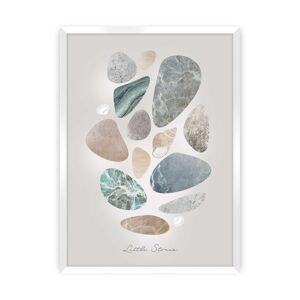 Plakát Pastel Stones