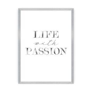 Obraz Passion Silver