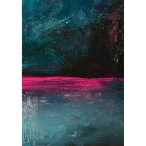 Obraz na plátně Ekspression Pink I