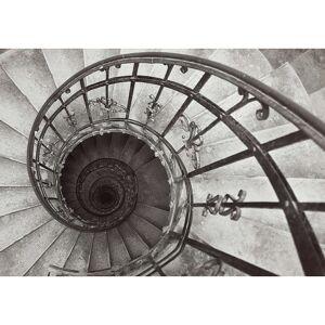 Obraz na plátně Spiral Stairs