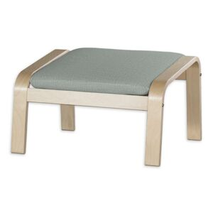 Sedák na podnožku Poäng