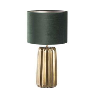 Vyšší stolní lampa Romita Green výška 75,5 cm